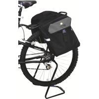 Bolsa Acte Sports A27 Bagageiro Para Bicicleta Com Fecho Interno Impermeável Preta