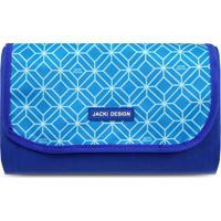 Tapete Para Piquenique Geométrico- Azul & Azul Clarojacki Design