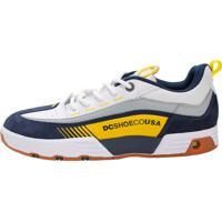 f2081516b6d Dafiti  Tênis Dc Shoes Legacy 98 - Branco E Amarelo