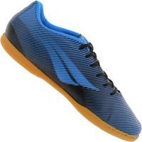 Chuteira Futsal Penalty Rx Fúria Ix Ic - Adulto - Azul/Preto