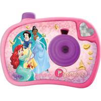 Câmera Fotográfica Disney Princesa Etitoys Personagens E Cores Sortidas