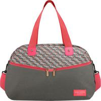 Bolsa De Viagem - Cinza & Pink - 29X42X20Cmjacki Design
