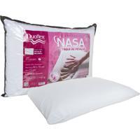 Travesseiro Duoflex Nasa Alto Toque De Pétalas Branco