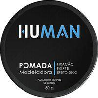 Pomada Modeladora Human Fixação Forte Efeito Seco 50G