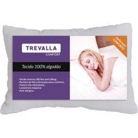 Travesseiro Trevalla Sonho Bom 180 Fios 50X70Cm Branco