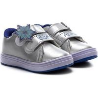 Tênis Infantil Disney Velcros Frozen Feminino - Feminino