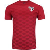 Camiseta Do São Paulo Hexagonal - Masculina - Vermelho