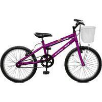 Bicicleta Master Bike Aro 20 Feminina Serena Violeta