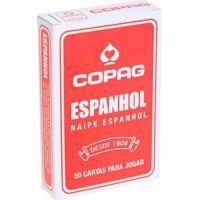 Baralho Espanhol Vermelho - Copag - Tricae