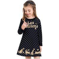 Vestido Infantil Milon Preto