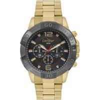 Relógio Condor Civic Feminino - Feminino-Dourado