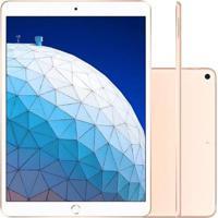 Tablet Apple Ipad Air 3º Geração 10.5'' Wi-Fi 256Gb Dourado Muut2