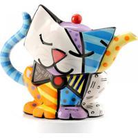Bule Romero Britto Gato - Cerâmica Trevisan Concept