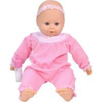 Boneca Miketa Gigizinha Baby - Rosa