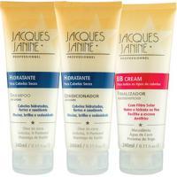 Kit De Shampoo & Condicionador Hidratante + Bb Cream- 24Jacques Janine