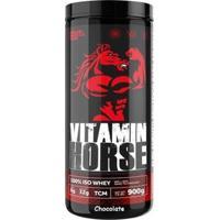 Whey 100% Iso - 900G Chocolate - Vitamin Horse - Unissex