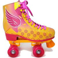 Patins Luna Hondar Hd Quad Com Rodas Led - Unissex