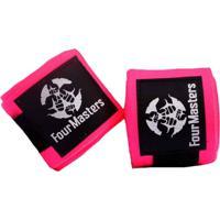 Bandagem Four Masters Elastica 5 Metros Artes Marciais Boxe Muay-Thai Rosa