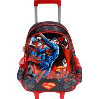 Mochilete Superman Ic32217Sm Vermelha