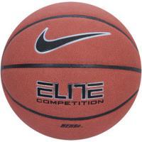 Bola De Basquete Nike Elite Competition 8P - Marrom
