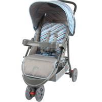 Carrinho De Bebê Junne Triciclo Baby Style Azul - Tricae