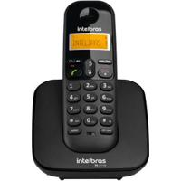 Telefone Sem Fio Ts 3110 Id De Chamadas Preto Intelbras
