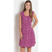 c4ff3a285 Posthaus; Vestido Juvenil Poá E Pink