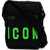 bce3d7060 ... Nike Store; Dsquared2 Bolsa Tiracolo Icon - Preto
