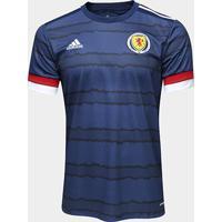 Camisa Seleção Escócia Home 20/21 S/N° Torcedor Adidas Masculina - Masculino