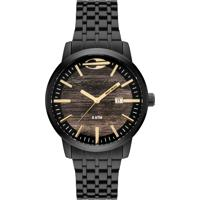 Relógio Mormaii Wood Preto Mo2115Bf4M