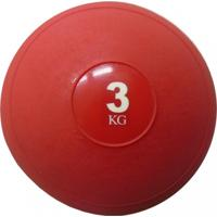 Medicine Ball De 3Kg Sem Kick Treinamento Funcional - Unissex