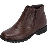 Botina Infantil Atron Shoes Kids 3701 Marrom