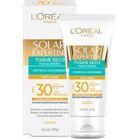 Protetor Solar Facial L'Oréal Expertise Toque Seco Antiacne Fps 30