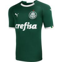 b240e7a1c7b18 Netshoes  Camisa Palmeiras I Infantil 19 20 S N° - Torcedor Puma - Unissex