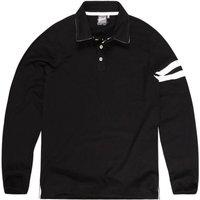 Camisas Khelf Polo Masculina Faixas Preto