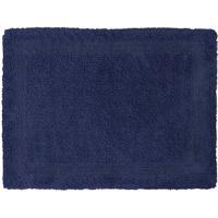 Tapete De Banheiro Lyon- Azul Marinho- 70X50Cm- Sultan