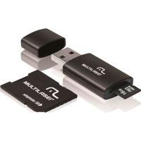 Pen Drive Multilaser 16Gb 3 Em 1 Com Cartã£O De Memã³Ria E Adaptador Mc112
