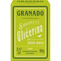Sabonete Granado Glicerinado De Erva Doce 90G