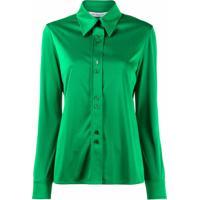 Givenchy Camisa Com Abotoamento - Verde