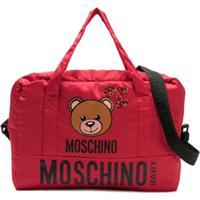 Moschino Kids Bolsa Maternidade 'Toy' - Vermelho