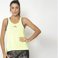 Regata Nadador Com Fenda- Amarelo Neon- Physical Fitphysical Fitness