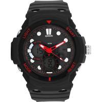 Relógio Speedo 81122G0Evnp2 Preto