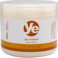 Máscara De Tratamento Yellow Liss Therapy - 500G - Unissex