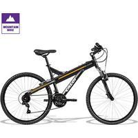 Bicicleta Aro 26 Caloi T-Type 21 Marchas - Unissex