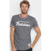 Camiseta Nfl Washington Redskins Mitchell & Ness Especial Masculina - Masculino