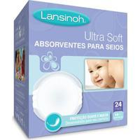 Absorventes Descartáveis Para Seios Ultrasoft (24 Un) - Lansinoh Lh20249 Absorvente De Seios Ultrasoft Lansinoh 24 Unid