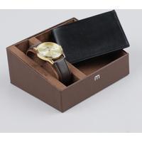 68a453cdc41 Kit De Relógio Analógico Mondaine Masculino + Carteira - 83284Gpmvdh1Ka  Dourado - Único