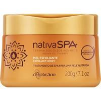 Nativa Spa Mel Esfoliante Desodorante Corporal Terapia Dos Óleos Indianos, 200G