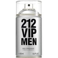 Body Spray Masculino 212 Vip Men Carolina Herrera 250Ml - Masculino-Incolor