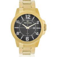 ... Relógio Technos Masculino Racer - Masculino-Dourado e13b7624cc